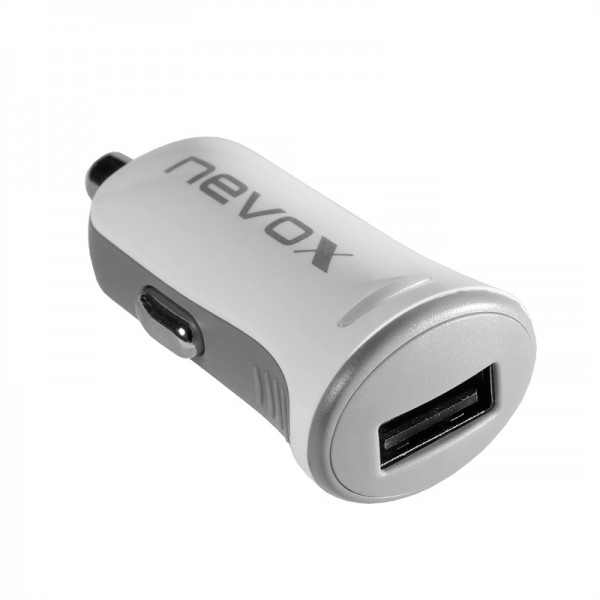 Nevox Single USB KFZ Ladeadapter - Output 5V / 2.4A (CC-1495) NEU & OVP