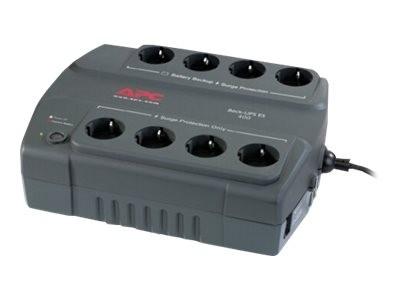 APC Back-UPS ES 400 - USV - Wechselstrom 230 V - 240 Watt - 400 VA - Ausgangsanschlüsse: 8