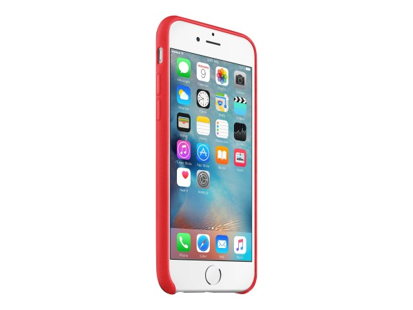 Apple (PRODUCT) RED - Hintere Abdeckung für Mobiltelefon - Leder - Rot - für iPhone 6, 6s