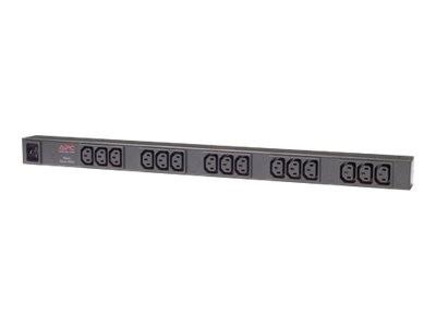 APC Basic Rack PDU Zero U - Steckdosenleiste (Rack - einbaufähig) - Wechselstrom 120/208/230 V - Ein