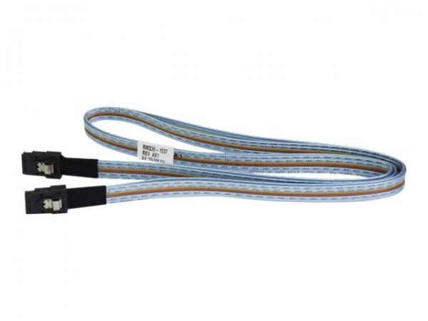 HPE - Externes SAS-Kabel - 4-Lane - 4x Shielded Mini MultiLane SAS (SFF-8088), 26-polig (M) bis 4x S