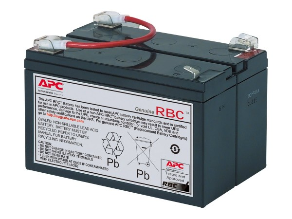 APC Replacement Battery Cartridge #3 - USV-Akku Bleisäure - Schwarz - für P/N: BK450, BK600, BK600C,