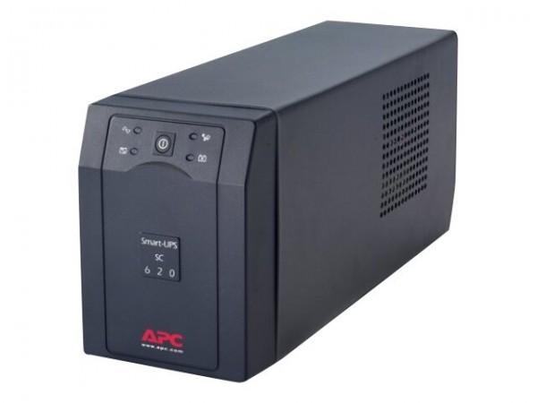 APC Smart-UPS SC 620VA - USV - Wechselstrom 230 V - 390 Watt - 620 VA - RS-232