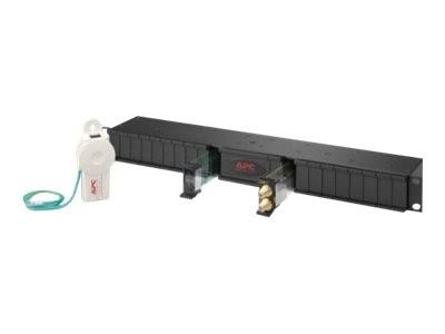 APC - Überspannungsschutz (Rack - einbaufähig) - 1U - Schwarz - für P/N: PRM24, PRM4