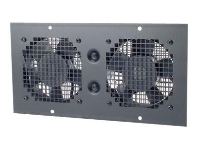 APC - Ventilatoreinsatz - geeignet für Wandmontage - Wechselstrom 230 V - Schwarz - für NetShelter W
