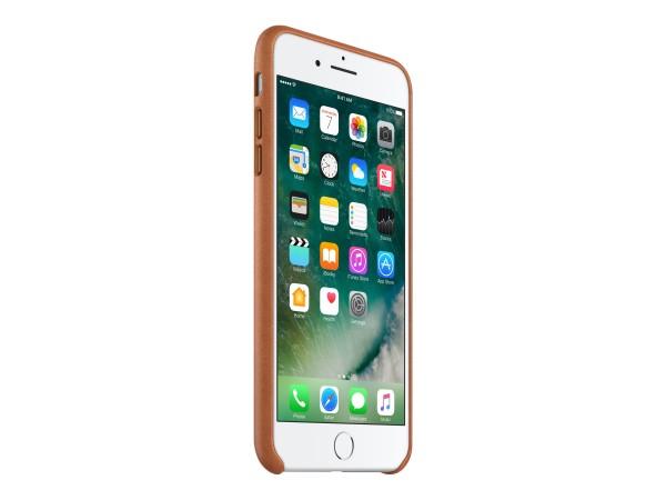 Apple - Schutzhülle hintere Abdeckung für Mobiltelefon - Leder - Saddle Brown - für iPhone 7 Plus