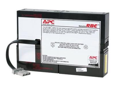 APC Replacement Battery Cartridge #59 - USV-Akku - 1 x Batterie - Bleisäure - holzkohlefarben - für