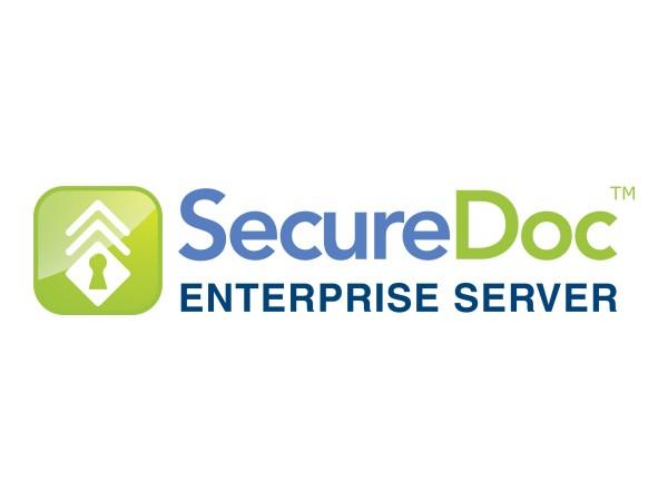 SecureDoc Enterprise Server - Lizenz + 3 Jahre Support - Volumen - 500-999 Lizenzen - elektronisch -