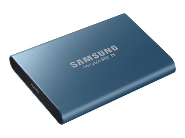 Samsung Portable SSD T5 MU-PA500 - Solid-State-Disk - verschlüsselt - 500 GB - extern (tragbar) - US