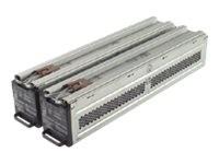 APC Replacement Battery Cartridge #44 - USV-Akku - 2 x Bleisäure 960 Wh - Schwarz - für Smart-UPS RT