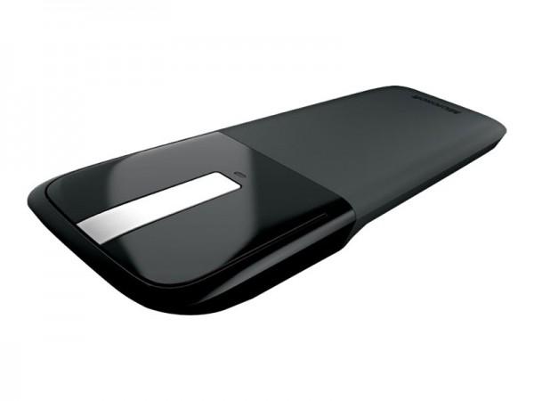 Microsoft Arc Touch Mouse - Maus - rechts- und linkshändig - optisch - 2 Tasten - kabellos