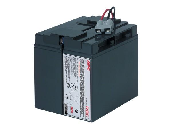 APC Replacement Battery Cartridge #7 - USV-Akku - 1 x Bleisäure - Schwarz - für P/N: SMT1500C, SMT15