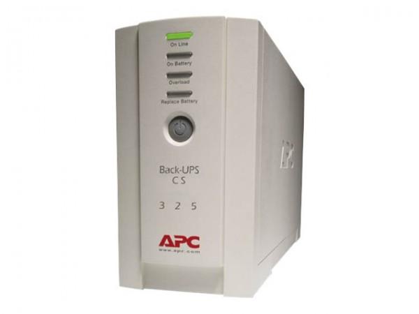 APC Back-UPS CS 325 - USV - Wechselstrom 230 V - 210 Watt - 350 VA - Ausgangsanschlüsse: 4