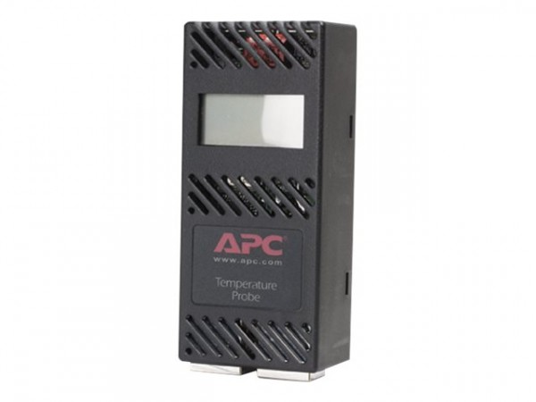 APC LCD Digital Temperature Sensor - Temperatursensor - Schwarz
