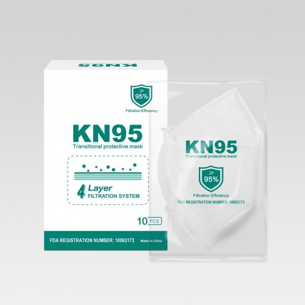 Atemschutzmasken der Schutzklasse FFP2 KN95 10er Pack (1795) Neu&OVP