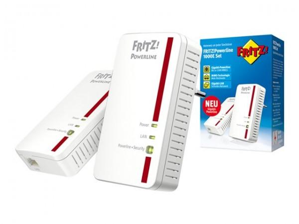 AVM FRITZ! Powerline 1000E Kit (20002688) Neuware