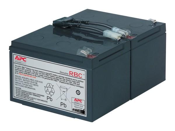 APC Replacement Battery Cartridge #6 - USV-Akku - 1 x Bleisäure - Schwarz - für P/N: SMC1500I-2UC, S