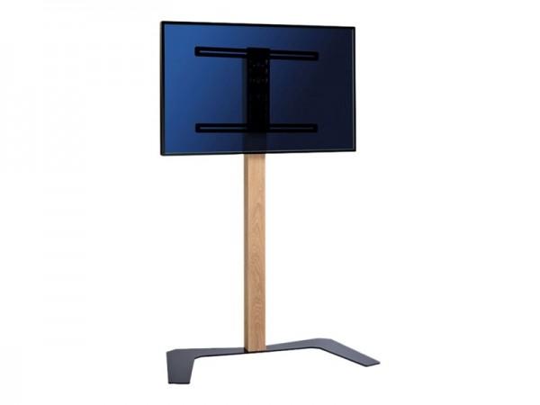 HAGOR Hatura Elia 160 - Aufstellung für flat panel - Holz, Stahl - Wild Oak - Bildschirmgröße: 81-14