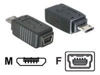 DeLOCK - USB-Adapter - Micro-USB Typ B (M) bis Mini-USB, Typ B (W)