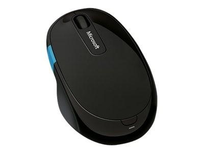 Microsoft Sculpt Comfort Mouse - Maus - Für Rechtshänder - optisch - 6 Tasten - kabellos
