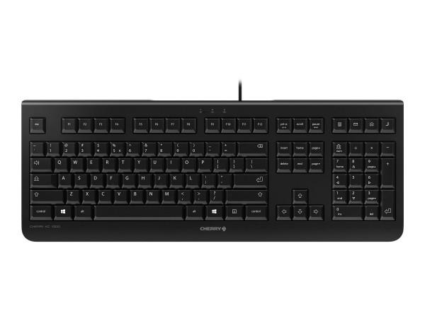 CHERRY KC 1000 - Tastatur - USA - Schwarz