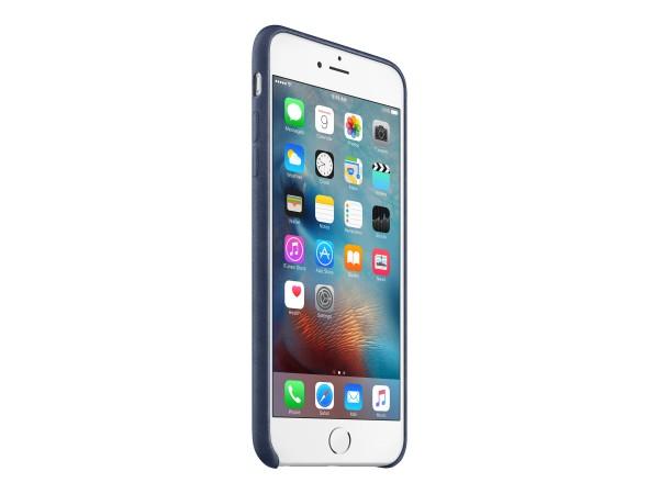 Apple - Hintere Abdeckung für Mobiltelefon - Leder - Mitternachtsblau - für iPhone 6 Plus, 6s Plus