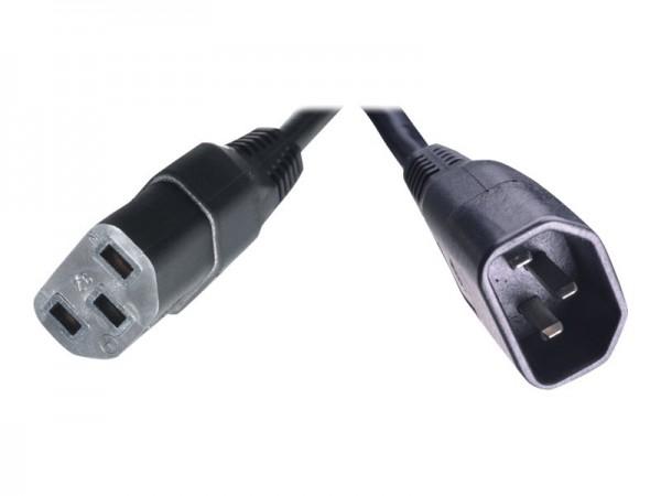 HPE - Stromkabel - IEC 60320 C14 bis IEC 60320 C13 - 2.5 m - für Rack; StorageWorks MSL2024, MSL4048