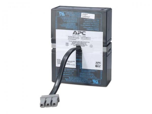 APC Replacement Battery Cartridge #33 - USV-Akku - 1 x Bleisäure - holzkohlefarben - für P/N: BR110