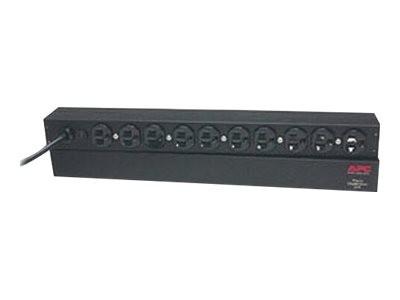 APC Basic Rack-Mount PDU - Steckdosenleiste (Rack - einbaufähig) - Wechselstrom 120 V - 1.8 kW - Ein