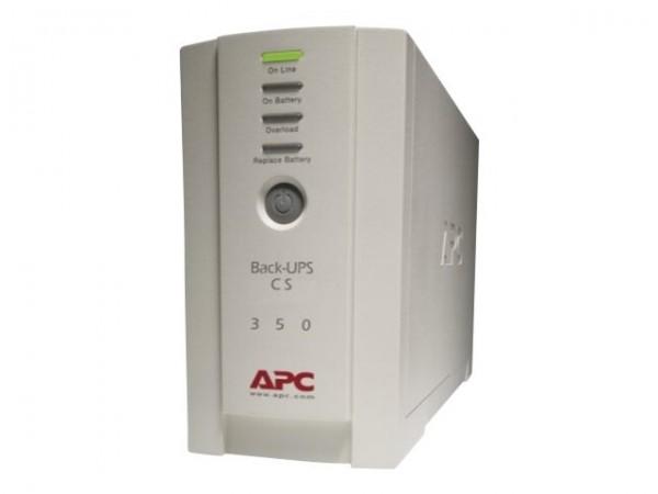 APC Back-UPS CS 350 - USV - Wechselstrom 230 V - 210 Watt - 350 VA - RS-232, USB
