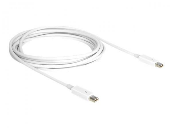 DeLOCK - Thunderbolt-Kabel - Mini DisplayPort (M) bis Mini DisplayPort (M) - 2 m - weiß