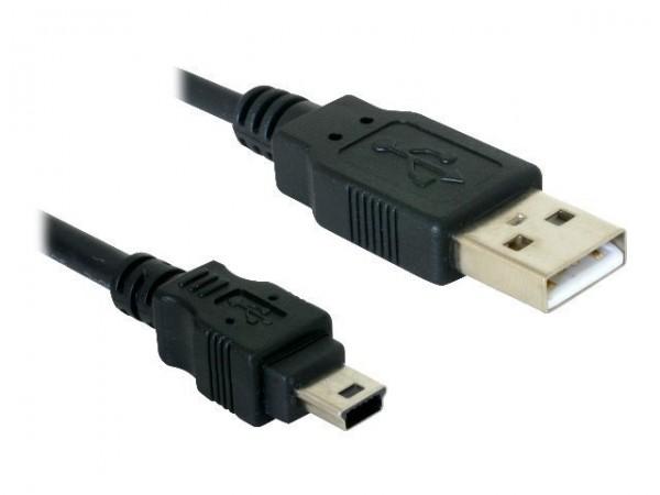 DeLOCK - USB-Kabel - Mini-USB, Typ B (M) bis USB (M) - 1.8 m
