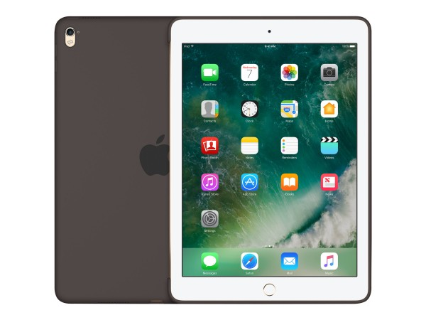 """Apple - Hintere Abdeckung für Tablet - Silikon - Cocoa - 9.7"""" - für 9.7-inch iPad Pro"""