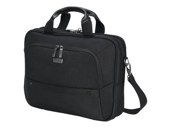"DICOTA Top Traveller ECO Notebook-Tasche 35.8 cm - 12""-14.1"" Schwarz (D31643) NEU&OVP"