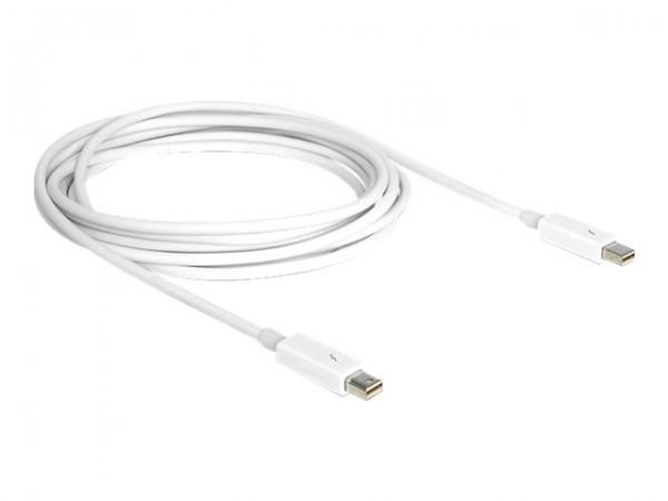 DeLOCK - Thunderbolt-Kabel - Mini DisplayPort (M) bis Mini DisplayPort (M) - Thunderbolt 2 - 3 m - w