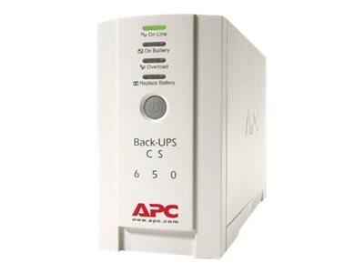 APC Back-UPS CS 650 - USV - Wechselstrom 230 V - 400 Watt - 650 VA - RS-232, USB