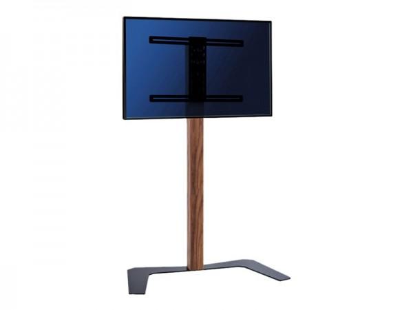 HAGOR Hatura Elia 160 - Aufstellung für flat panel - Holz, Stahl - Nußbaum - Bildschirmgröße: 81-140