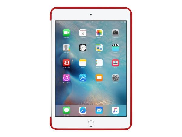 Apple (PRODUCT) RED - Hintere Abdeckung für Tablet - Silikon - Rot - für iPad mini 4