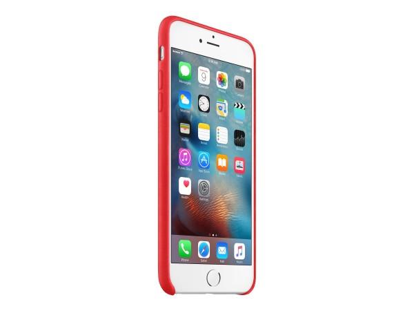 Apple (PRODUCT) RED - Hintere Abdeckung für Mobiltelefon - Leder - Rot - für iPhone 6 Plus, 6s Plus