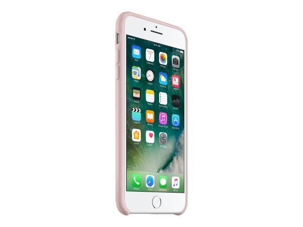Apple - Hintere Abdeckung für Mobiltelefon - Silikon - rosa sandfarben - für iPhone 7 Plus