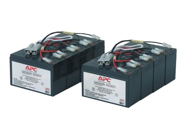 APC Replacement Battery Cartridge #12 - USV-Akku - 2 x Bleisäure - Schwarz - für P/N: DL5000RMT5U, S