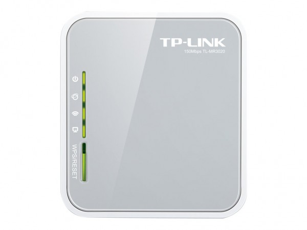 TP-Link Wireless Router 802.11b/g/n Desktop (TL-MR3020 Ver.3.20) A-Ware