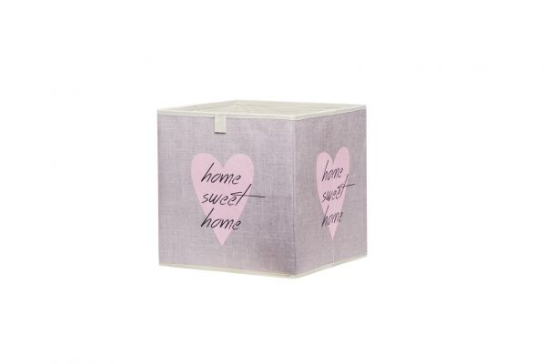 Faltbox Box - Delta -32 x 32 cm / 3er Set - Heart