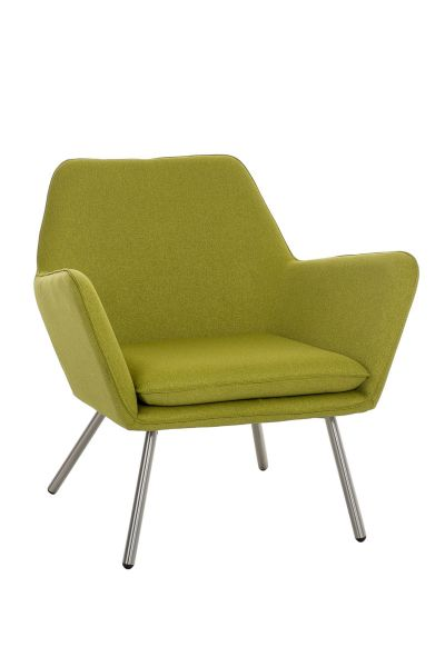 Sessel Coctailsessel Lounger - Adele - in trend Design in Grün
