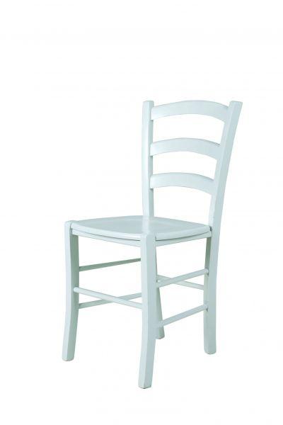 Esszimmerstühle - ALEX - Stuhle 2er Set Massivholz Kernbuche Weiss