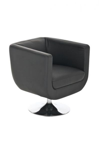 Sessel Coctailsessel Lounger - Colo - in trend Design in Schwarz