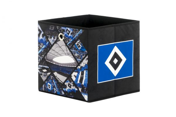 Faltbox Box - HSV / Nr.1 - 32 x 32 cm / 3er Set