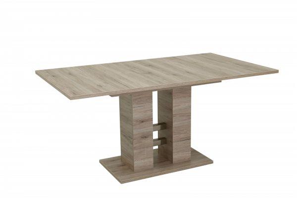 Esstisch Säulentisch DITTE 140-180-220x90 cm San Remo Eiche