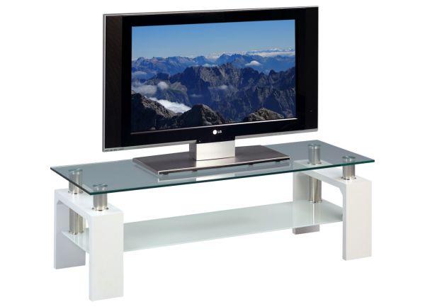 lowboard tv schrank arne 118 x 39 cm dekor weiss matt