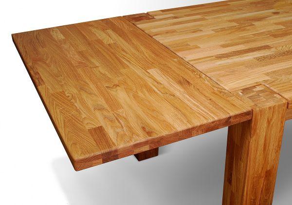 ansteckplatte 50cm f r tisch santo eiche massiv ge lt fun m bel. Black Bedroom Furniture Sets. Home Design Ideas